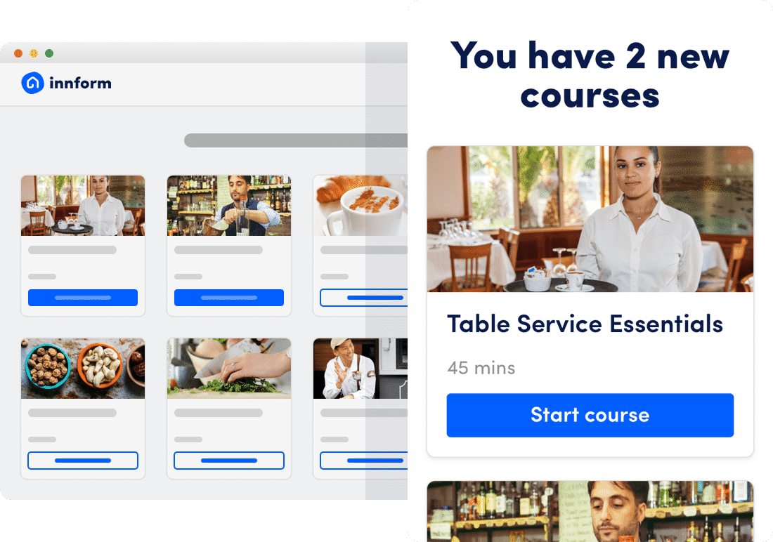 hospitality online training innform elearning